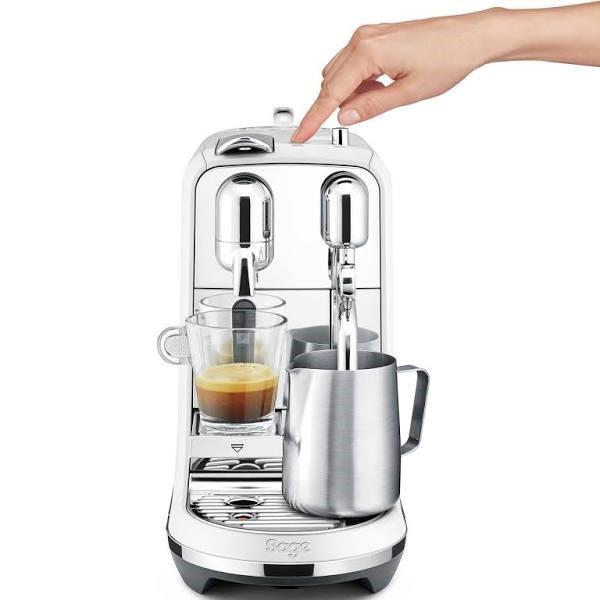 Sage Creatista Plus Nespresso Sea Salt Coffee Machine (BNE800SST)