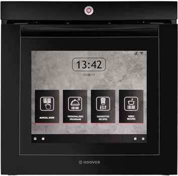Hoover VISION Wifi Connected Integrated Electric Single Oven - Black,