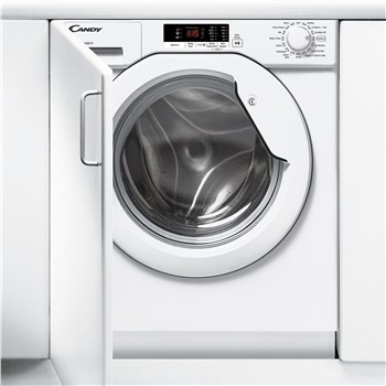 Candy CBWM 914S-80 9kg 1400 Spin Integrated Washing Machine - White,