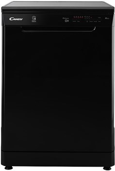 Candy CDP 1LS57B-80 Smart Freestanding Dishwasher - Black,