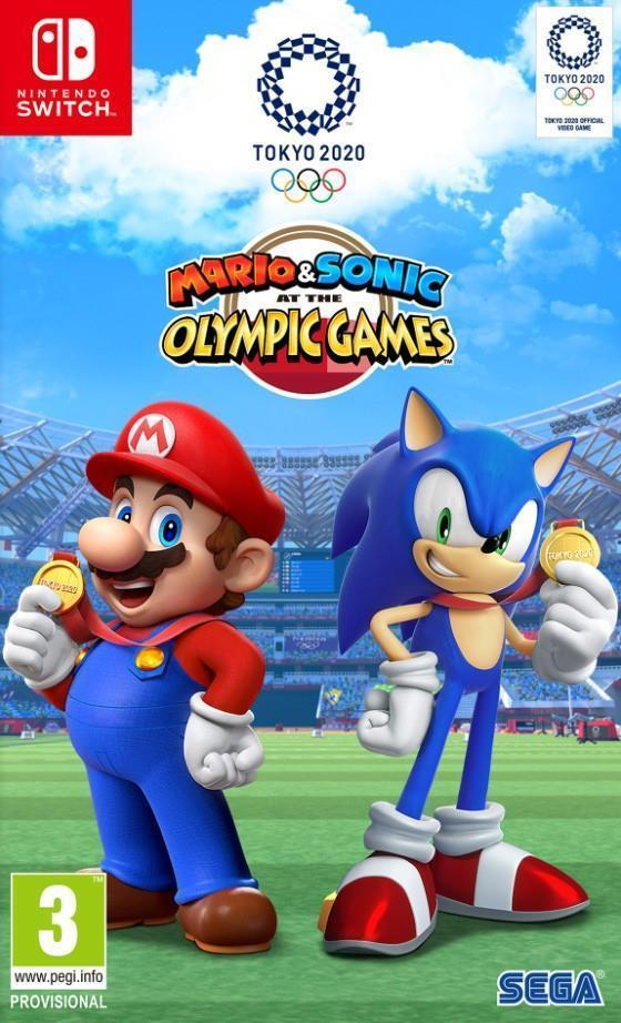 Mario and Sonic at the Olympic Games Tokyo 2020 for Switch