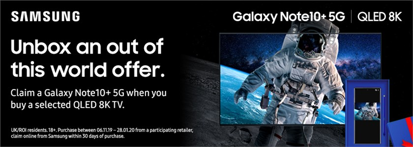 Claim a Note 10+ 5G Free