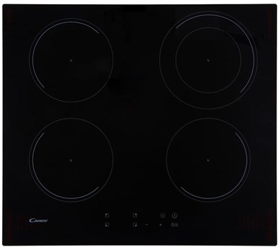 Candy CI642CC 4 Zone Induction Hob - Black,