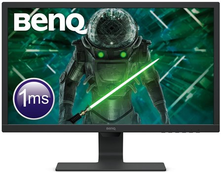 "BenQ GL2480E 24"" Full HD 75Hz Gaming Monitor, 9H.LHXLB.FBE"