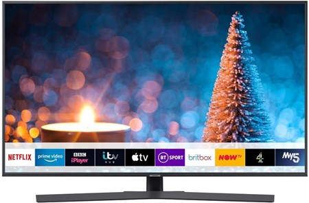 "UE43RU7400UXXU, Samsung 43"" RU7400 Dynamic Crystal Colour HDR Smart 4K TV"