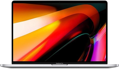 MacBook Pro 16-inch Touch Bar - Intel 9th Gen i9 16GB RAM 1TB SSD Silver, MVVM2B/A