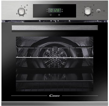 Candy FCPKS816X/E Electric Pyrolytic Single Oven - Stainless Steel,