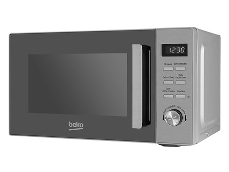 Beko Stainless Steel 23L 800W Microwave with 1000W Integrated Grill (MOF20110X), MOF20110X