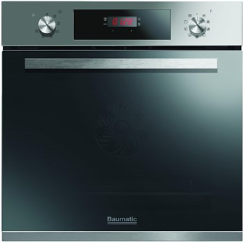Baumatic BOPT609X Electric Pyrolytic Single Oven - Stainless Steel,