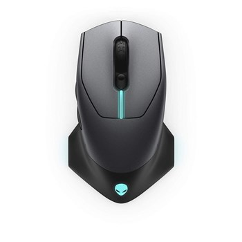 Alienware AW610M Wired/Wireless Gaming Mouse - Black, 545-BBCI