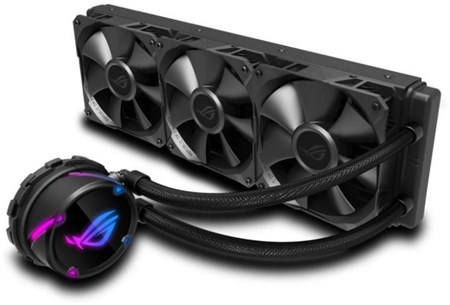 ASUS Rog Strix LC Performance 360mm All In One CPU Liquid Cooler, 90RC0070-M0UAY0