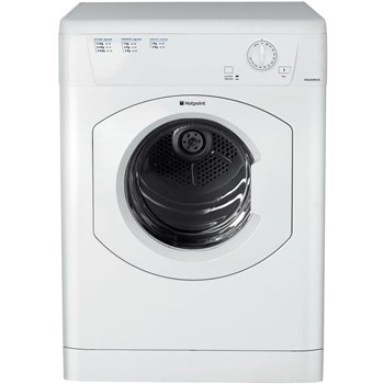 Hotpoint TVHM80CP Freestanding 8kg Vented Tumble Dryer - White,