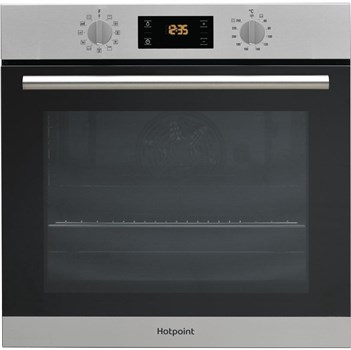 Hotpoint SA2840PIX Electric Pyrolytic Single Oven - Stainless Steel,