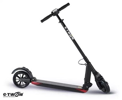 E-Twow Booster GT Electric Scooter (Grey), 5056143621317