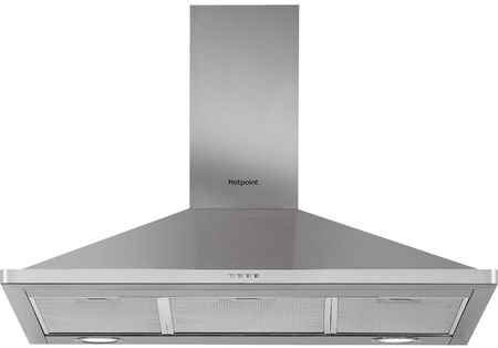 Hotpoint PHPN95FLMX 90cm Wide Chimney Hood - Stainless Steel,