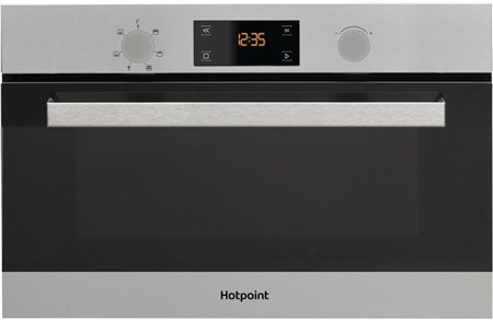 Hotpoint MD344IXH Built In Microwave - Stainless Steel,