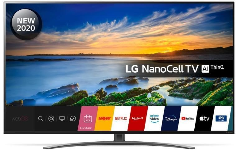 "65NANO866NA, LG 65NANO866NA 65"" 4K Ultra HD NanoCell HDR Smart TV"
