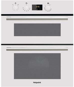 Hotpoint DU2540WH Electric Built Under Double Oven - White,
