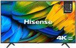"Hisense H43B7100UK 43"" 4K Ultra HD HDR Smart TV with Freeview Play"