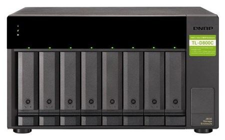 TL-D800C, QNAP TL-D800C 8-Bay Desktop Expansion Enclosure