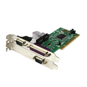 PCI2S1P, StarTech.com 2S1P PCI Serial Parallel Combo Card with 16550 UART