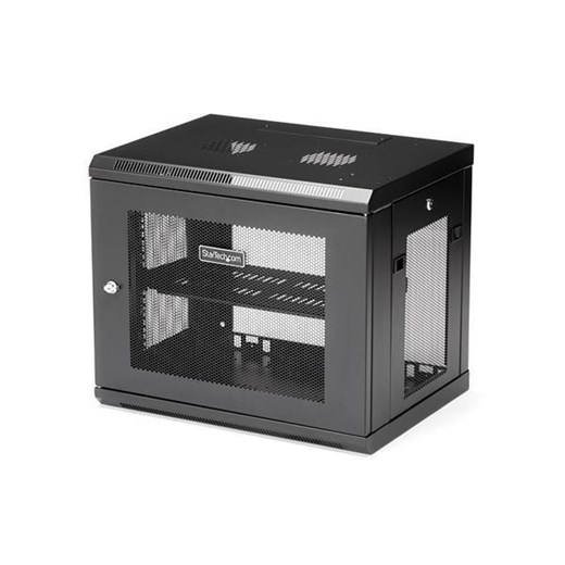 RK9WALM, StarTech.com 9U Wall Mount Server Rack Cabinet - Network 15 in. Deep