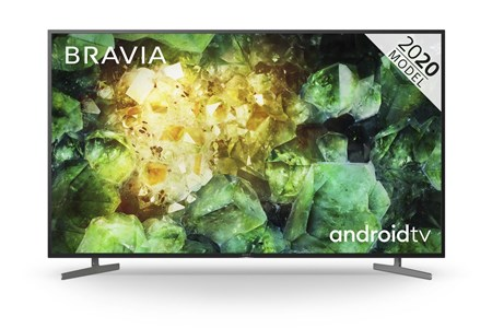 "KD49XH8196BU, Sony BRAVIA KD49XH81 49"" LED 4K Ultra HD HDR Smart Android TV with Voice Remote"