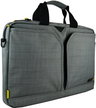 "techair Evo Pro 13.3"" Laptop Briefcase Grey, TAEVA001"
