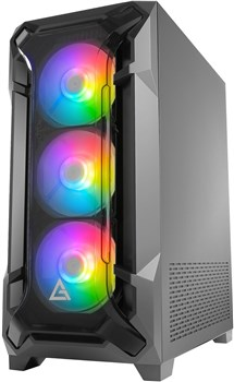 0-761345-80060-0, Antec DF600 Flux Tempered Glass Mid Tower Case
