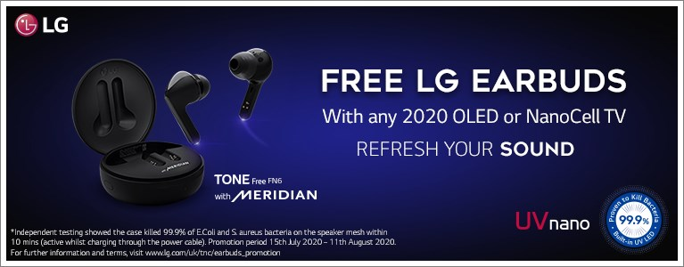Free LG FN6 Earbuds