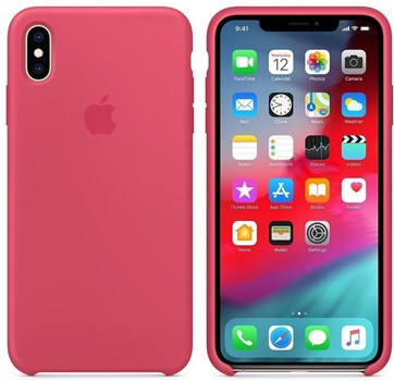 Apple iPhone XS Max Silicone Case - Hibiscus, MUJP2ZM/A