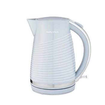 108270, Morphy Richards Cornflower Blue Dune Jug Kettle (108270)