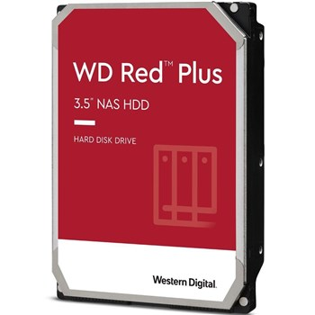 "WD40EFRX, WD 4TB Red Plus (CMR) NAS Hard Drive 3.5"" SATA 6Gb/s 5400 RPM 64MB Cache"