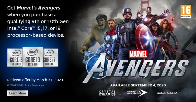 + Marvel Avengers Game