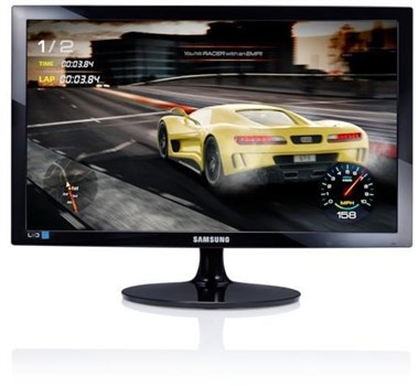"Samsung LS24D332HSO/EN 24"" Full HD TN 75Hz Monitor,"