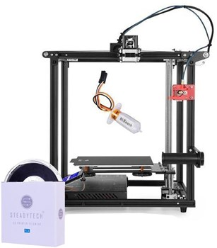 Creality Ender 5 Pro With BL Touch Auto Bed Levelling 3D Printer+ 1KG Black Steadytech Filament