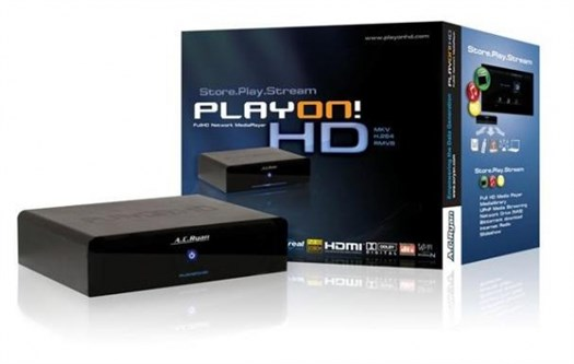 AC Ryan Playon!HD 500GB Full HD Network Media Streamer Player
