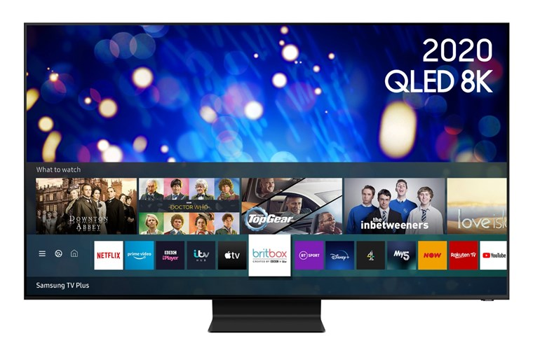 "QE65Q800TATXXU, Samsung 2020 65"" QE65Q800T QLED 8K HDR 2000 Smart TV with Tizen OS"