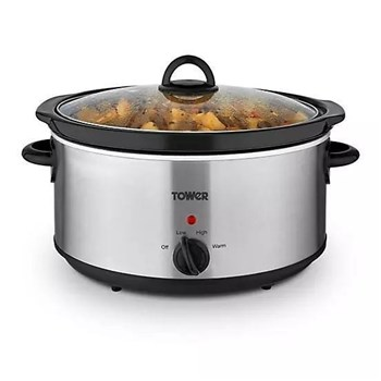 T16029BF, Tower 5.5L Slow Cooker (T16029BF)