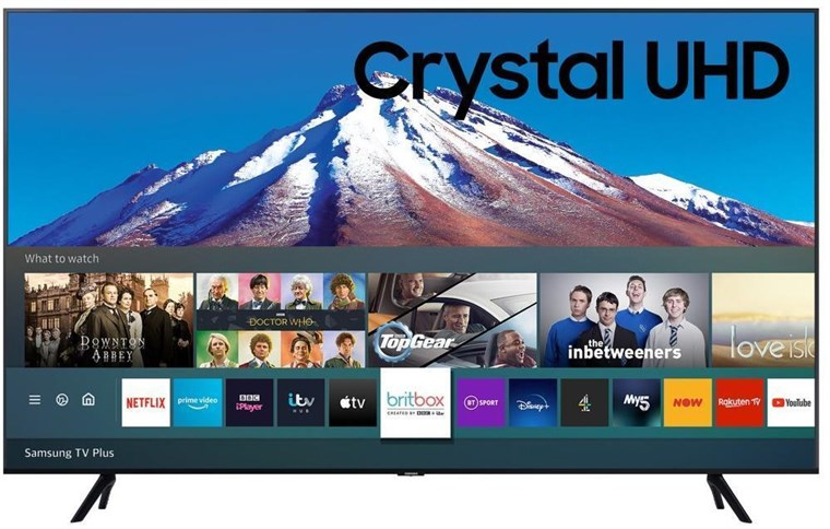 "UE70TU7020, Samsung 70"" UE70TU7020 HDR Smart 4K TV with Tizen OS"