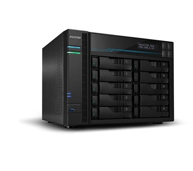 Asustor Lockerstor 10 AS6510T 10-Bay Desktop NAS (Network-Attached Storage) Enclosure,