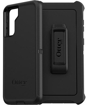 77-82072, OtterBox Defender Series Samsung Galaxy S21 Plus Case - Black