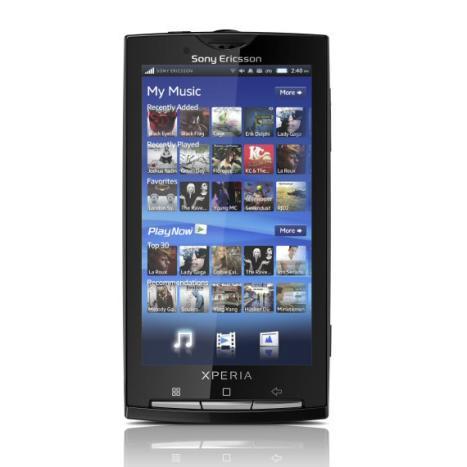 SIM Free Sony Ericsson XPERIA X10 Smartphone 1231-8220