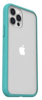 77-80161, OtterBox React Series iPhone 12 and Pro Case - Blue / Clear