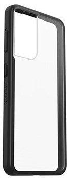 77-81597, OtterBox React Series Samsung Galaxy S21 Case - Black / Clear