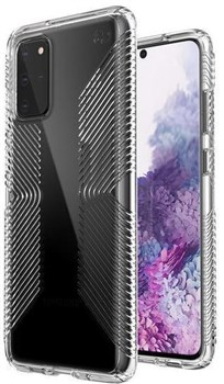 136375-5085, Speck Samsung Galaxy S20 Plus Presidio Perfect-Clear Grip Case - Clear