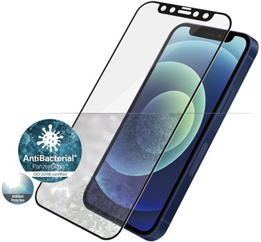 2719, PanzerGlass iPhone 12 mini Anti-glare Tempered Glass Screen Protector - Black