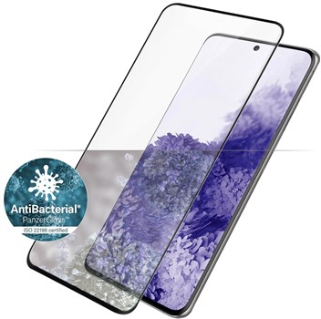 7265, PanzerGlass Samsung Galaxy S21 Ultra Tempered Glass Screen Protector - Black