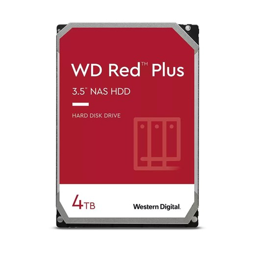 "WD40EFZX, WD 4TB Red Plus (CMR) NAS Hard Drive 3.5"" SATA 6Gb/s 5400 RPM 128MB Cache"