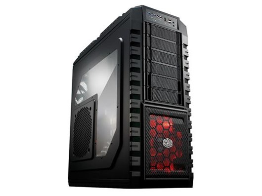Cooler Master HAF-X Full Gaming Spec Tower Case, No Power Supply Included,USB 3 Ports, Fierce and Stylish Design,RC-942-KKN1